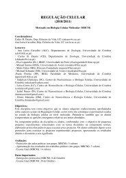 REG CEL Prog 2010_MBCM - Universidade de Coimbra