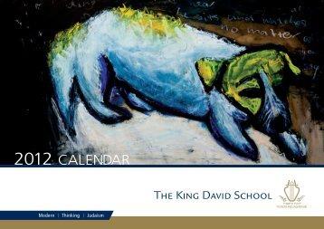 2012 CALENDAR - The King David School