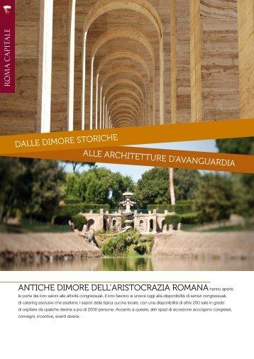 Scarica la brochure delle dimore storiche - Roma