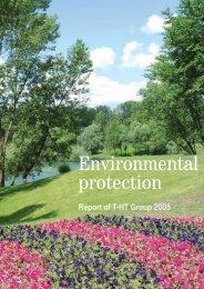 Environmental protection - T-Hrvatski Telekom