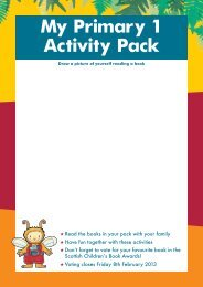 My Primary 1 Activity Pack - Scottish Book Trust