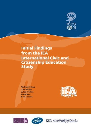 Initial Findings from the IEA International Civic and Citizenship ...