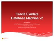 Oracle Exadata v2 Fast Track - HrOUG