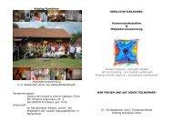 Einladung zum Partnerschaftstreffen und der MV ... - Kolping Europa