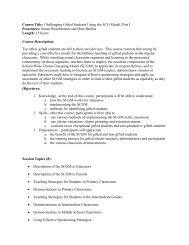 Course Title: Improving Literacy in Secondary Schools, Part I