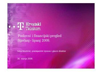 Prezentacija - T-Hrvatski Telekom