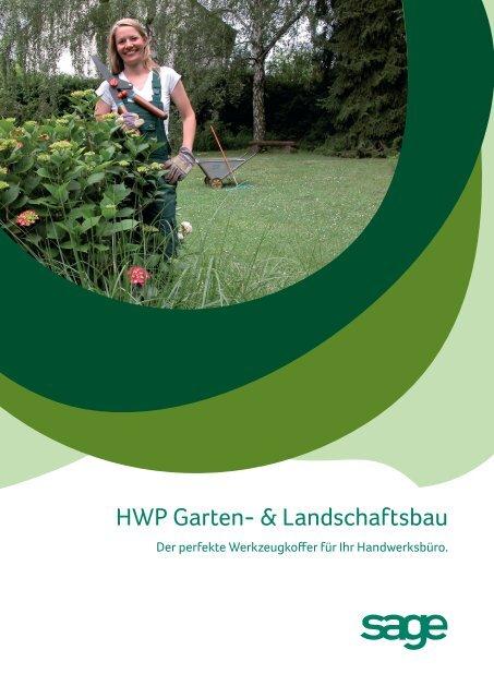 HWP Garten- & Landschaftsbau - Business-Ware