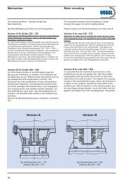 Motormounting Spiral bevel gearboxes