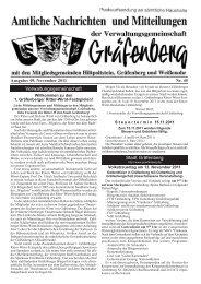 Ausgabe: 09. November 2011 Nr. 45 - Hiltpoltstein