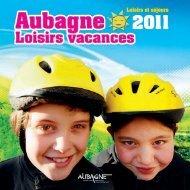 Loisirs et séjours - Site officiel de la ville d'Aubagne en Provence