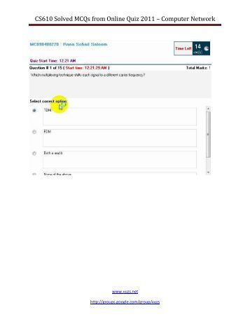 cs301 midterm solved papers