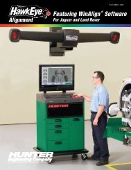HawkEye™ Alignment Featuring WinAlign® Software, Form 5890-T