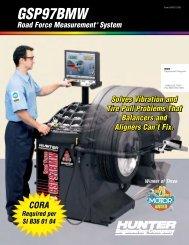 GSP97BMW Road Force Measurement System - Hunter ...
