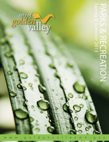 Spring-Summer 2013 - City of Golden Valley