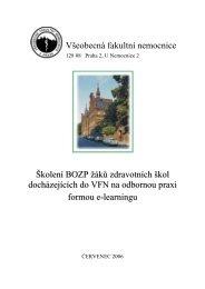 Popis projektů VFN - Vítejte na stránkách BOZP a PO - Všeobecná ...