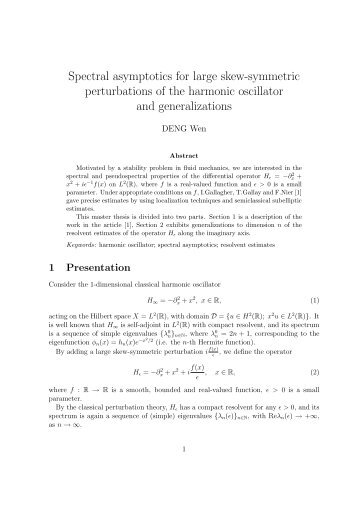 Spectral asymptotics for large skew-symmetric perturbations of the ...