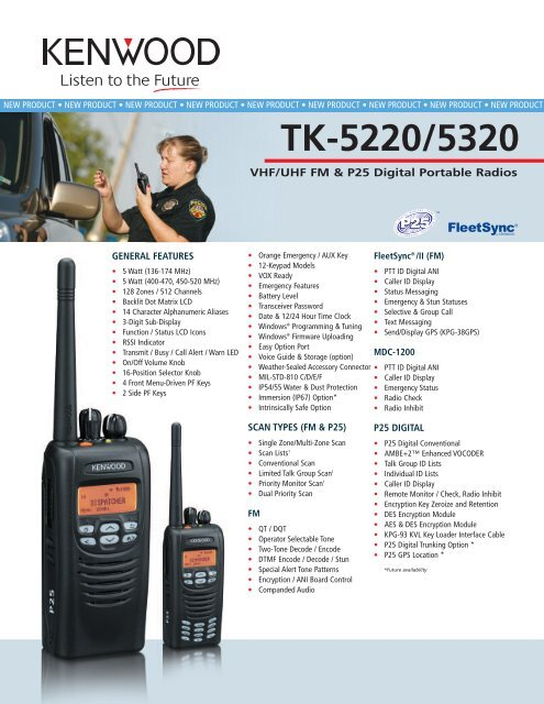 TK-5220/5320 - Prairie Mobile Communications