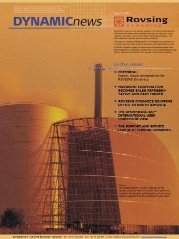 August 2004 - Rovsing Dynamics