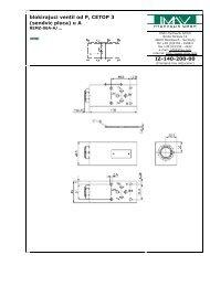 blokirajuci ventil od P, CETOP 3 (sendvic ploca) u A IZ-140-200-00