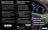 What you should know about resetting vehicle steering ... - Pro-Align