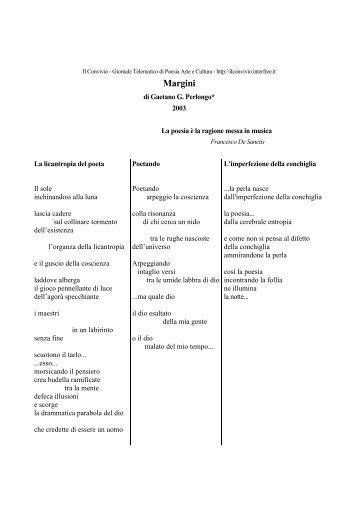 Margini - Centro Studi e Ricerche Aleph