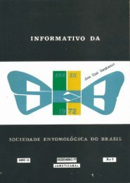 3 - Sociedade Entomológica do Brasil