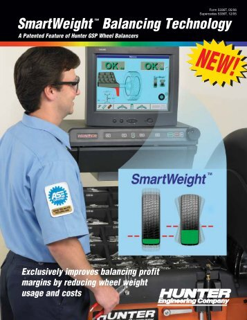 SmartWeight Balancing Technology - Pro-Align