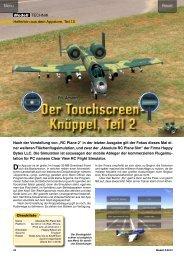 Der Touchscreen- Knüppel, Teil 2 Der Touchscreen ... - Neckar Verlag