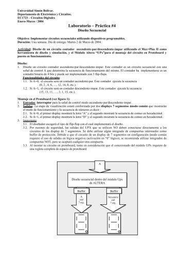 Práctica #4 - Página Web del Laboratorio C - Universidad Simón ...