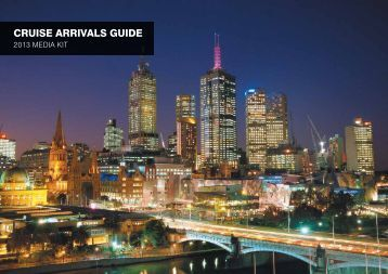 CRUISE ARRIVALS GUIDE - Destination Melbourne