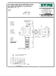 Spaudinio variantas - IMAV-Hydraulik GmbH