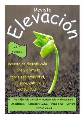 Revista Elevación Nº1, Noviembre 2014.
