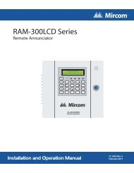 LT-1002_RAM-300LCD_Installation_and_Operation_Manual - Mircom