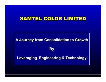 SAMTEL COLOR LIMITED - India Ratings