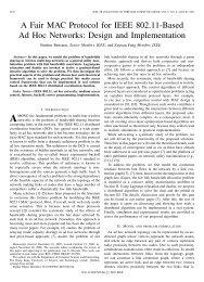 A Fair MAC Protocol for IEEE 802.11-Based Ad Hoc ... - IEEE Xplore