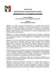 ESTATUTOS PARTIDO REVOLUCIONARIO ... - SUMA