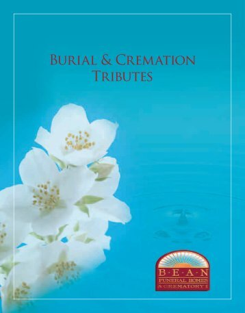 Burial & Cremation Tributes - Order form