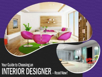 Interior Designers San Antonio – Guide to Choose!