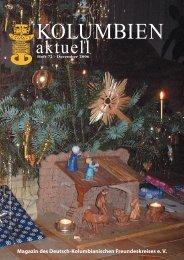 Heft 72 - Deutsch-Kolumbianischer Freundeskreis eV