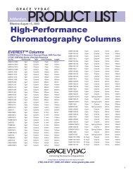 EVEREST™ Columns - Teknolab AS