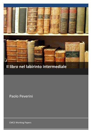 Il libro nel labirinto intermediale