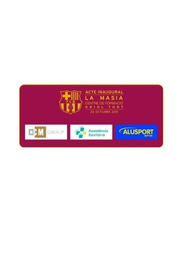 Inauguració de la nova Masia, Centre de ... - FCBarcelona.cat