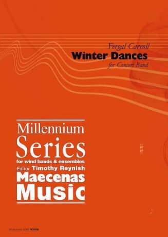 Fergal Carroll - Winter Dances (pdf download) - Tim Reynish