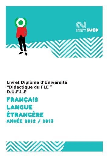 FLE - Université Rennes 2