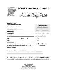 Craft Show Application - Boone Chamber Of Commerce
