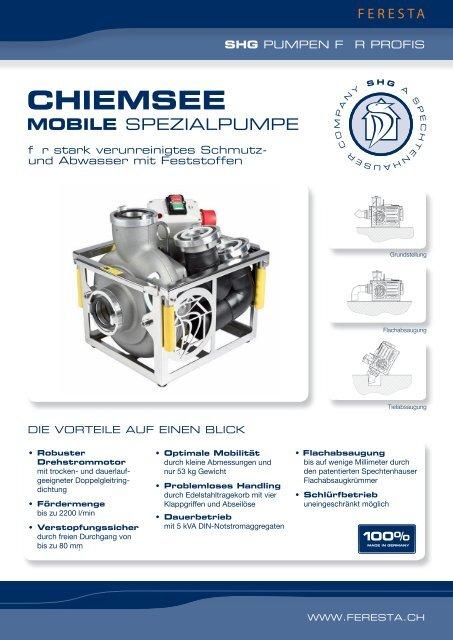Chiemsee 400 V - FERESTA GmbH