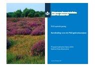 Handleiding PAS opleidingsdag 22-25 maart 2011 - Natura 2000