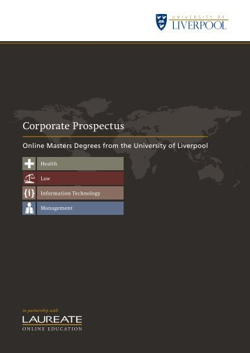 Corporate Prospectus - About Us - University of Liverpool