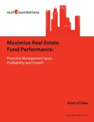 Maximize Real Estate Fund Performance - White Paper Company