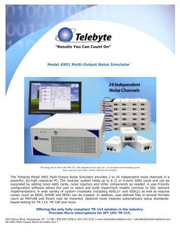 DS 4901 Multi-Output Noise Simulator Rev I - Indes.com